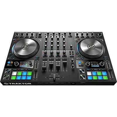 NATIVE INSTRUMENTS 4 Deck DJ Controller TRAKTOR KONTROL S4 MK3 EMS w/ Tracking comprar usado  Enviando para Brazil
