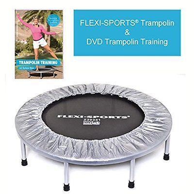 "FLEXI-SPORTS® Trampolin zzgl. DVD ""Trampolin Training"""