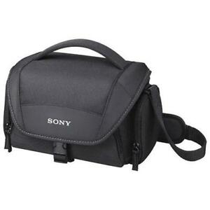 Sony LCSU21B Soft Digital Camera Bag - Black (New Other)