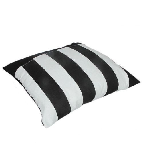 Black And White Striped Pillow Ebay