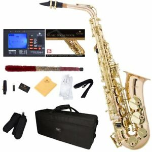 Alto Saxophone MENDINI , Rose Brass and Tuner, Case