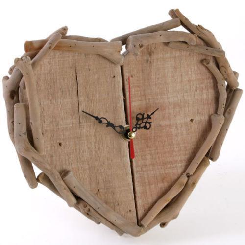 Heart Shaped Wall Clock Ebay