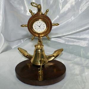 Campanello da reception hotel scrivania orologio timone for Scrivania da reception
