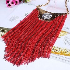 NEW RED CHAIN NECKLACE - MOVING SALE!!