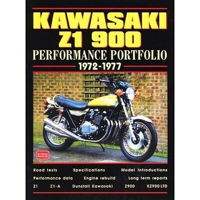 Kawasaki Z1 900 Performance Portfolio 1972-1977 book paper motorcycle