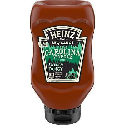 Heinz Carolina Vinegar Style BBQ Sauce (18.6 oz Bottles, Pack of 6) Carolina Bbq Sauce