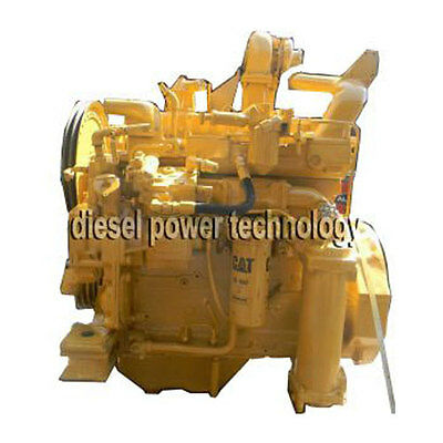 Caterpillar 3304pc Remanufactured Diesel Engine Extended Long Block