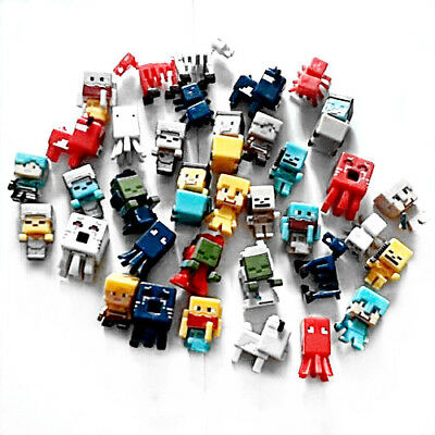 US Minecraft Toys Christmas Gift Toys action Figure 36 PCS Set 1.5 cm - 3 cm
