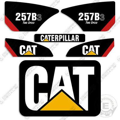 Caterpillar 257b-3 Decal Kit Skid Steer Equipment Decals