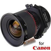 Canon Tilt Shift
