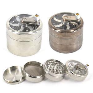Herb-Mill-Grinder-50mm-4-Part-Aluminium-Magnetic-Diamond-Shark-Teeth-Grinder