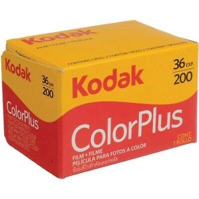 Kodak Colorplus 200 35mm 36exp Cheap Colour Print Film Fresh UK Stock  - 1 pack