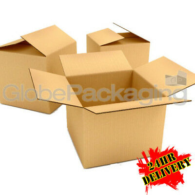 15 x HIGH GRADE Large Cardboard Postal Boxes 18x12x7