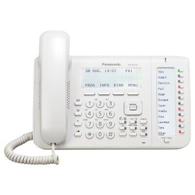 Panasonic Kx-nt556 W 24 Button 6 Line Lcd White Speaker Display Voip Telephone