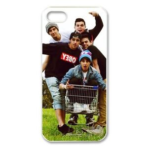 The Janoskians Custom For iPhone 5 5s Case Cover Clear Side BE005