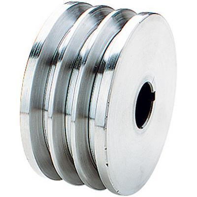 G5520 Grizzly Triple V-groove Pulley - 3-12 Dia. 78 Bore