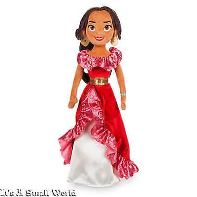 Disney Store Princess Elena Of Avalor Plush Doll Medium Size 20  Nwt