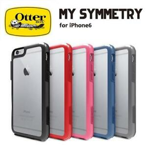 iPHONE 6s AND 6S PLUS OTTER-BOX CLEAR SYMMETRY CASES