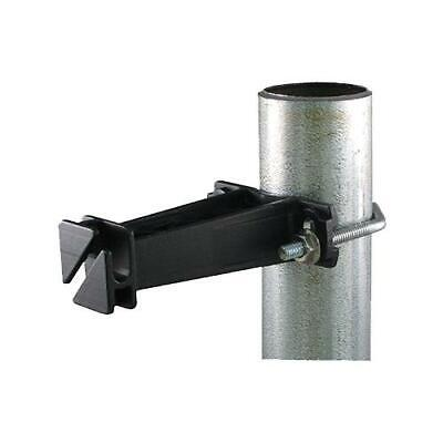Dare Electric Fence Insulator For Chain-link Post Black 10-pk.