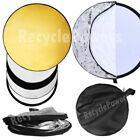 Unbranded Gold Collapsible Studio Reflectors