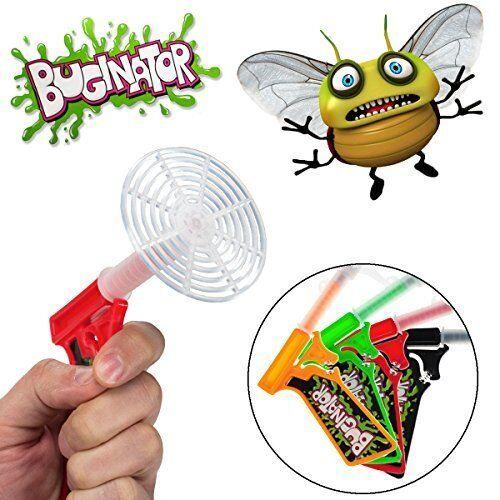 4-pack Buginator  Fly Swatter Guns Insect Bug Pest Killer Spring-Loaded Shooter