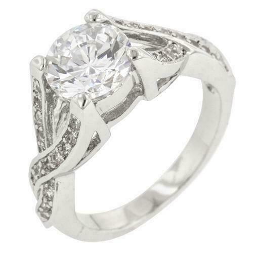 Germany 1970s Vintage D\u00edamond Solitaire Ring Ring Size  US 7.6 Germany 56 Engagement Ring Diamond 0.10 Carat 14K White Gold UK P
