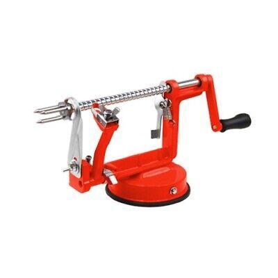 3 in 1 Apple Schäler Schneidemaschine Entkerner Würfelschneider Küche