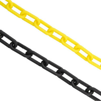 Plastic Chain Links Crowd Control Traffic Social Distance Queue Line