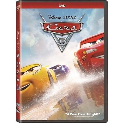 Cars 3 DVD New & Sealed comes with Slipcover Free Shipping Included!