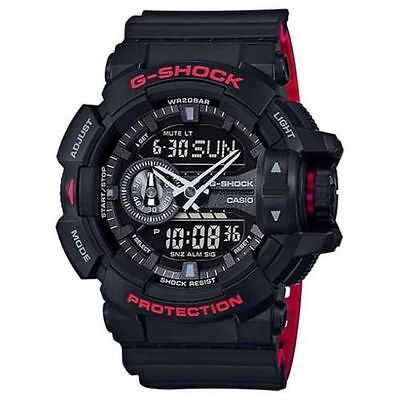 Crazy Deal New G-Shock GA400HR-1A Rotary Black/Red Analog-Digital Mens Watch