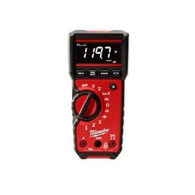 Milwaukee 2217-20 6.5 600v Acdc Rugged Auto-range True-rms Digital Multimeter
