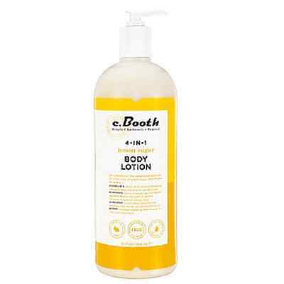 C.Booth 4-In-1 Multi-Action Body Lotion Lemon Sugar 32 Ounce