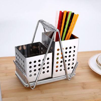 Kitchenware Storage Cutlery Holder & Kitchen Utensil Rack Drain Cylinder 7051