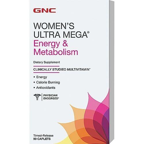 GNC Women's Ultra Mega Energy & Metabolism - 90 Caplets