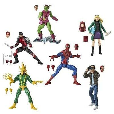 Spiderman Retro Marvel Legends 6 Inch Action Figures Wave 1 Pre-order September