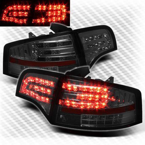 Audi A4 Smoked Tail Lights Ebay