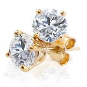 1/4 Carat Diamond Earrings