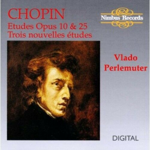 Vlado Perlemuter, Andrea Immer - Etudes Opus 10 & 25 [New CD]