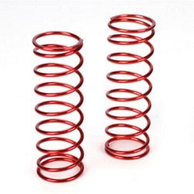 Losi LOSB2966 Front Springs 12.9 lb Rate Red (2) 5ive-T