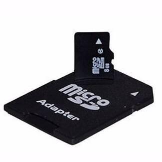 8GB MicroSD Micro SD Flash Memory Card Class 10, 3 units $5 each