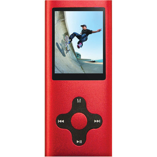 Eclipse 180 Pro 4GB Video MP3 Player Red ECLIPSE-180-PRO RD