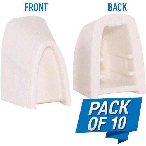 28051027 or 280294127 (Pack of 10) Lutron White Split Dimmer Knob