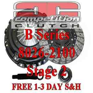 Competition Stage 2 Clutch Acura Integra Del Sol Civic Si B18C B18 B16 8026-2100