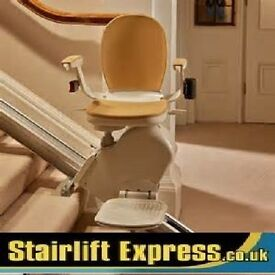 STAIRLIFT - NEW & RECONDITIONED *STANNAH *BROOKS *ACORN - FITTED WITH WARRANTY AND FREE SERVICE!