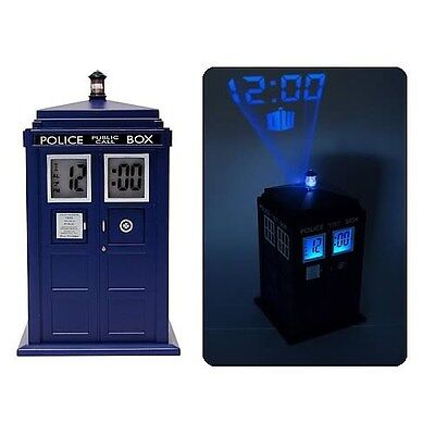 Doctor Who TARDIS Projection Alarm Clock - Makes TARDIS Sounds - Licensed