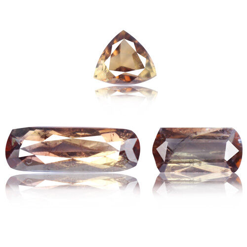 Axinite 3.08ct rare aaa color change 100% natural earth mined from Afghanistan
