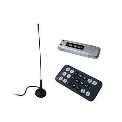 PC USB DVB-T Stick / Receiver mit DVB-T Antenne + Fernbedienung | TV Stick