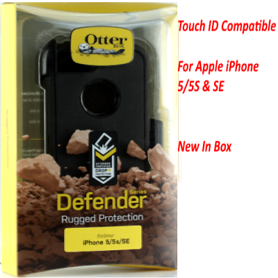 OtterBox 77-54888 Defender Series Case, iPhone 5/5S, Black