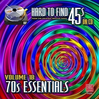 Various Artists   Hard To Find 45S On Cd 18   70S Essentials   Var  New Cd
