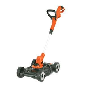 Black + Decker 6.5 Amp 3-in-1 Corded Compact Mower - MTE912